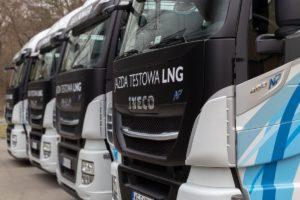 Flagowa ciężarówka IVECO LNG dostępna do testów