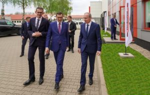 Premier Morawiecki z wizytą w Tip-Topol
