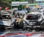 Ciężarówka spowodowała karambol - tragedia pod Szczecinem