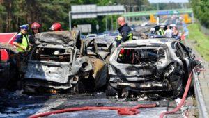 Ciężarówka spowodowała karambol – tragedia pod Szczecinem
