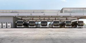 Pantograf do ładowania autobusów elektrycznych od ABB