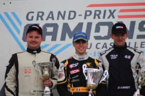 """""""Gregory"""" Ostaszewski trzy razy na podium w pierwszych wyścigach w tym sezonie"""