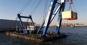 Złożony logistycznie transport 953 ton