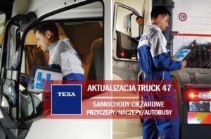 Aktualizacja oprogramowania TEXA IDC5 Truck