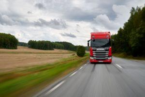 Scania R450 z tytułem Green Truck 2019