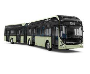 Volvo prezentuje nowy elektryczny autobus przegubowy