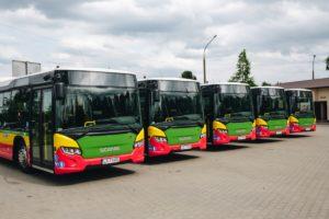Biała Podlaska wybiera autobusy Scania zasilane biodieslem