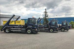 Pierwsze w Polsce bramowce Scania CNG