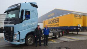 Testy ciężarówek na LNG w warunkach rzeczywistych