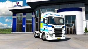 Scania LNG w Euro Truck Simulator 2