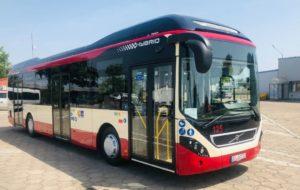 Autobusy hybrydowe Volvo w Lesznie