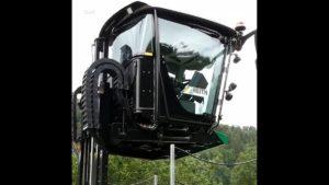 Ciężarówka z ruchomą kabiną [FILM]