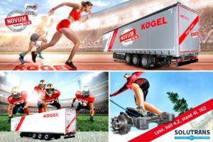 Kögel prezentuje swoje produkty na targach Solutrans 2019