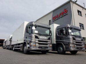 Scania z silnikiem 7-litrowym w Kompanii Dystrybucyjnej