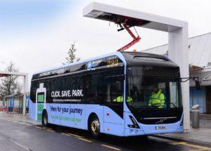 Elektryczne autobusy Volvo w Birmingham