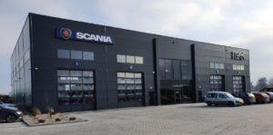 Otwarcie serwisu Scania w Toruniu