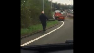 Uciekająca ciężarówka – [film]