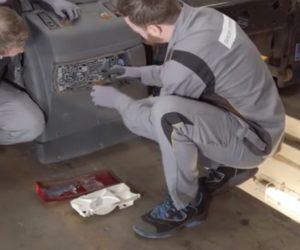 Lars i Kevin odnawiają reflektory w ciężarówce [Film]