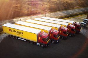 Nowe naczepy Wielton w Logistyce Centralnej Kolportera