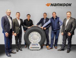 Hankook i Schmitz Cargobull przedłużają partnerstwo strategiczne do roku 2022