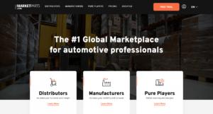 MARKETPARTS.COM – globalny marketplace B2B dla producentów i dystrybutorów części oficjalnie wystartował