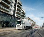 Elektryczne pojazdy ciężarowe Scania w Oslo