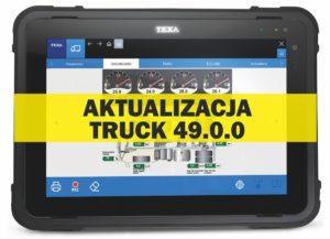 Aktualizacja oprogramowania IDC5 Truck 49.0.0
