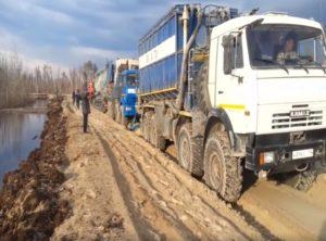 Ciężarowy kulig na piasku [FILM]