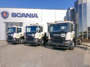 15 pojazdów komunalnych Scania dla ENERIS
