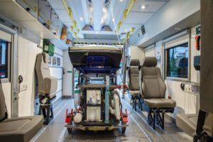 Ambulans Scania dla Sztokholmu