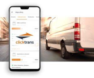 Aplikacja Clicktrans dostępna dla przewoźników
