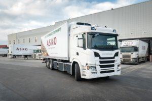 Scania dostarczy elektryczne ciężarówki firmie ASKO
