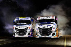 IVECO prezentuje nowe wyścigowe samochody ciężarowe IVECO S-WAYR