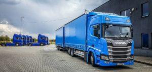 Pierwszy w Polsce zestaw Scania na LNG