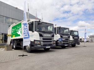 Pojazdy komunalne Scania dla ENERIS