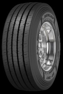Nowa opona Dunlop SP247 do naczep