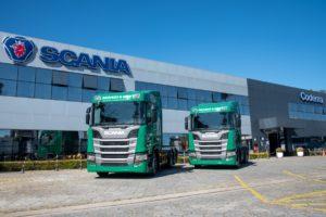 Pierwsze w Brazylii pojazdy Scania zasilane gazem