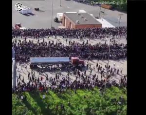 USA: Ciężarówka wjechała w tłum protestujących
