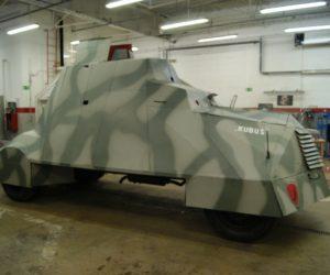 Kubuś – wóz pancerny Powstańców i jego renowacja