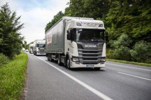 50 pojazdów Scania dla FREJA Transport & Logistics