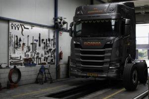 Nowa europejska sieć napraw ciężarówek