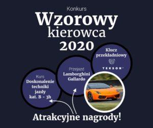 """Konkurs """"Wzorowy Kierowca 2020"""" podczas Master Truck"""