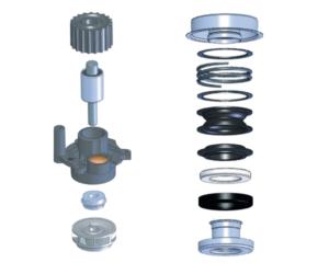 Rozwiązania febi bilstein: mechaniczne uszczelnienie wirnika pompy wody