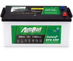 Bezobsługowe akumulatory EFB dla ciężarówek od AUTOPART