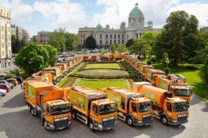 44 pojazdy komunalne DAF dla Belgradu
