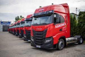IVECO przekazało firmie AGROMEX 20 ciężarówek na LNG