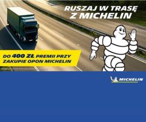 Ruszaj w trasę – promocja opon Michelin