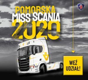 Pomorska Miss Scania 2020 z głosowaniem online