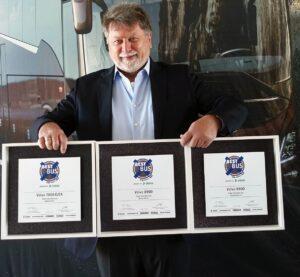 Volvo Buses zdobywa nagrodę ETM Awards w trzech kategoriach