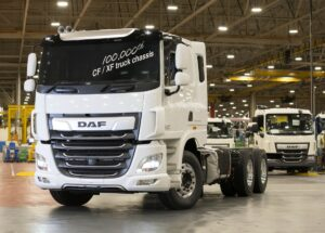 Z zakładów Leyland wyjechał 100-tysięczny DAF CF/XF